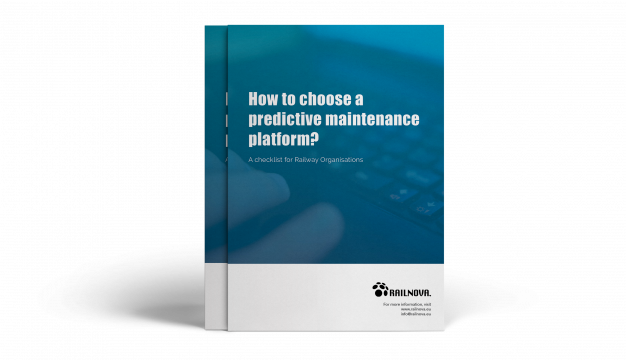 Railway predictive maintenance checklist