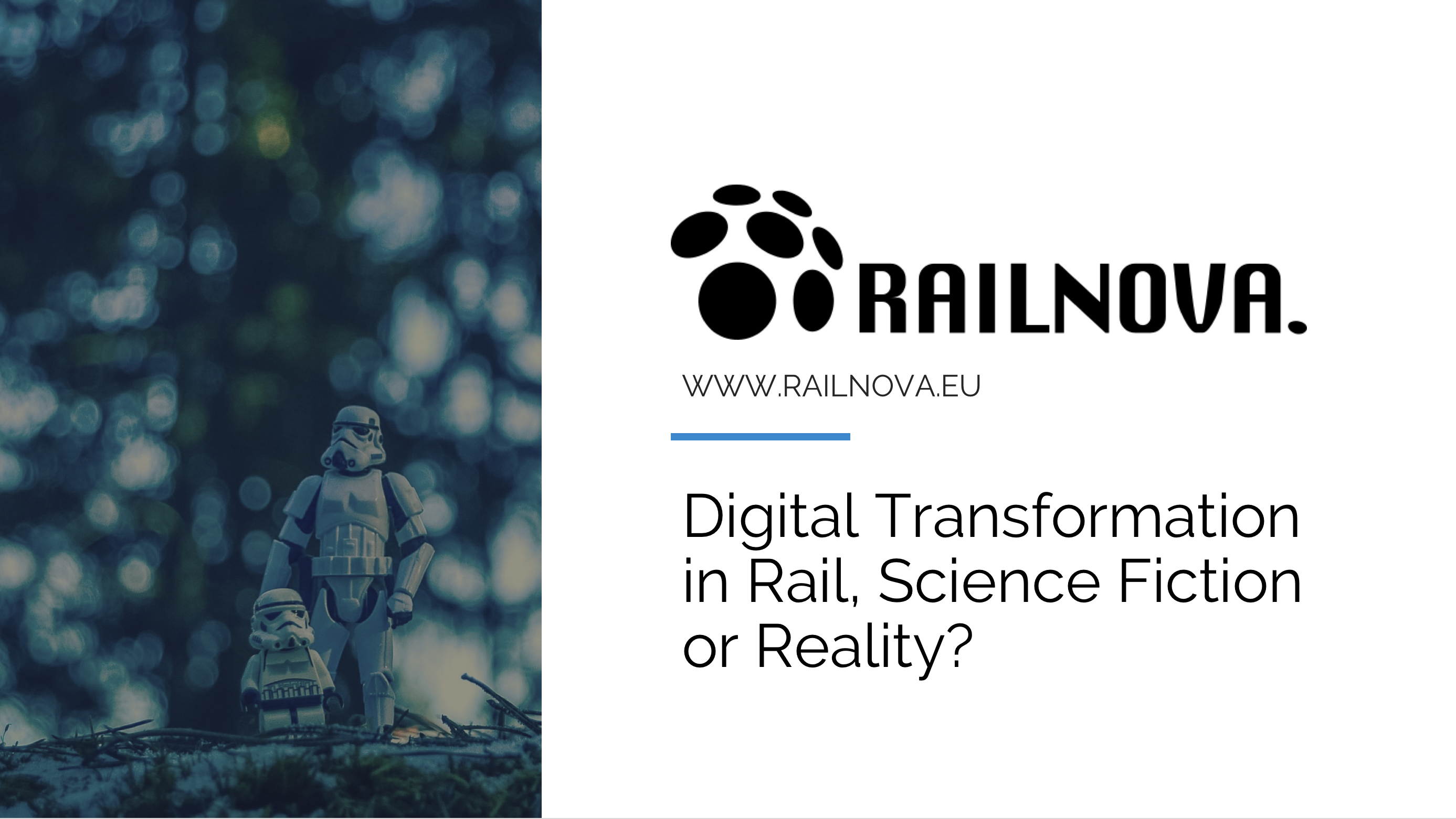 Digital tranformation in rail science fiction or reality