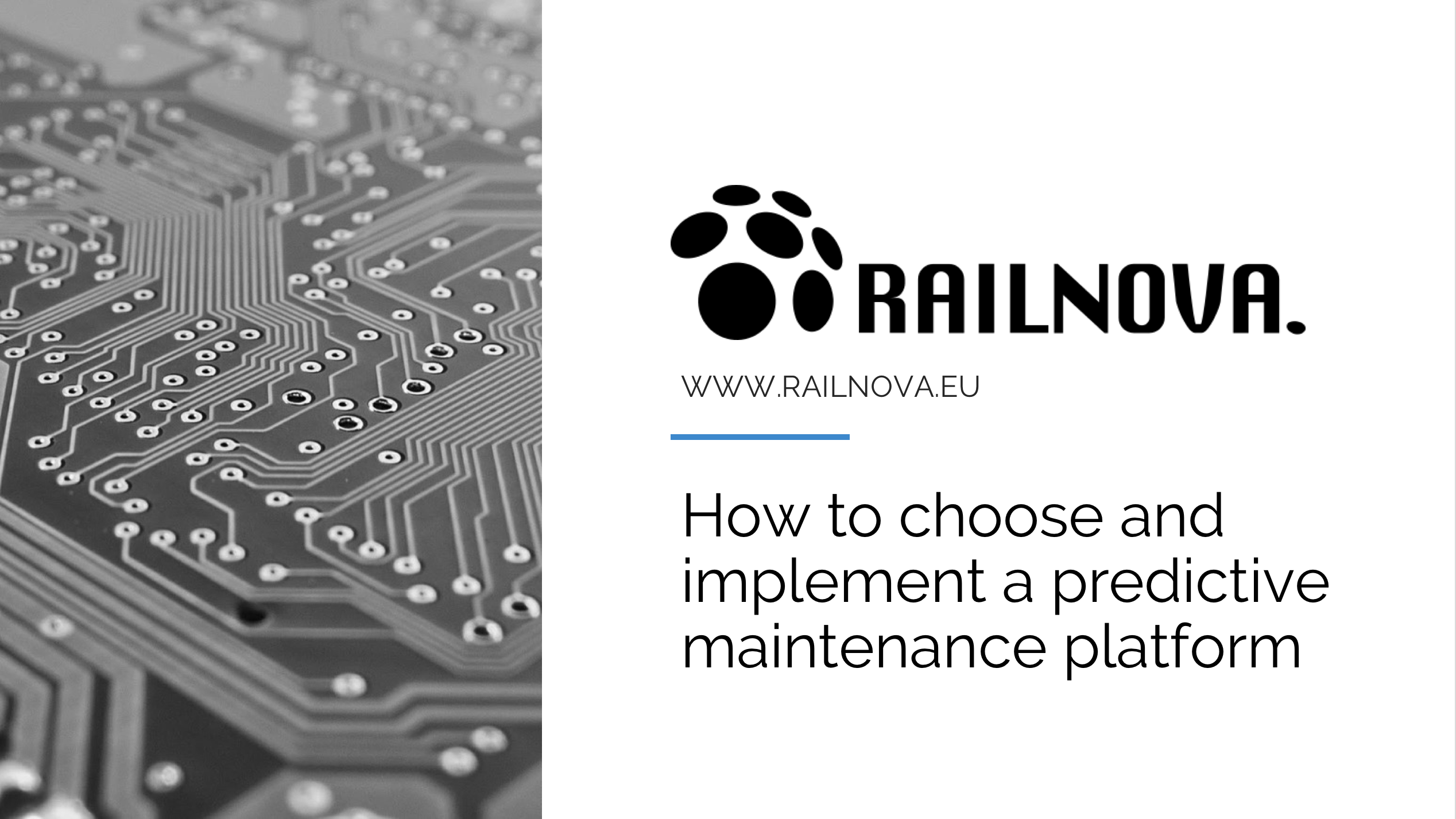 How to choose and implement a predictive maintenance platform