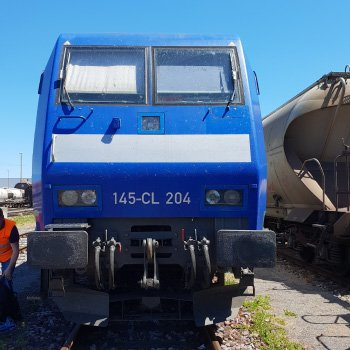 Railnova connects to BR145 Bombardier locomotives