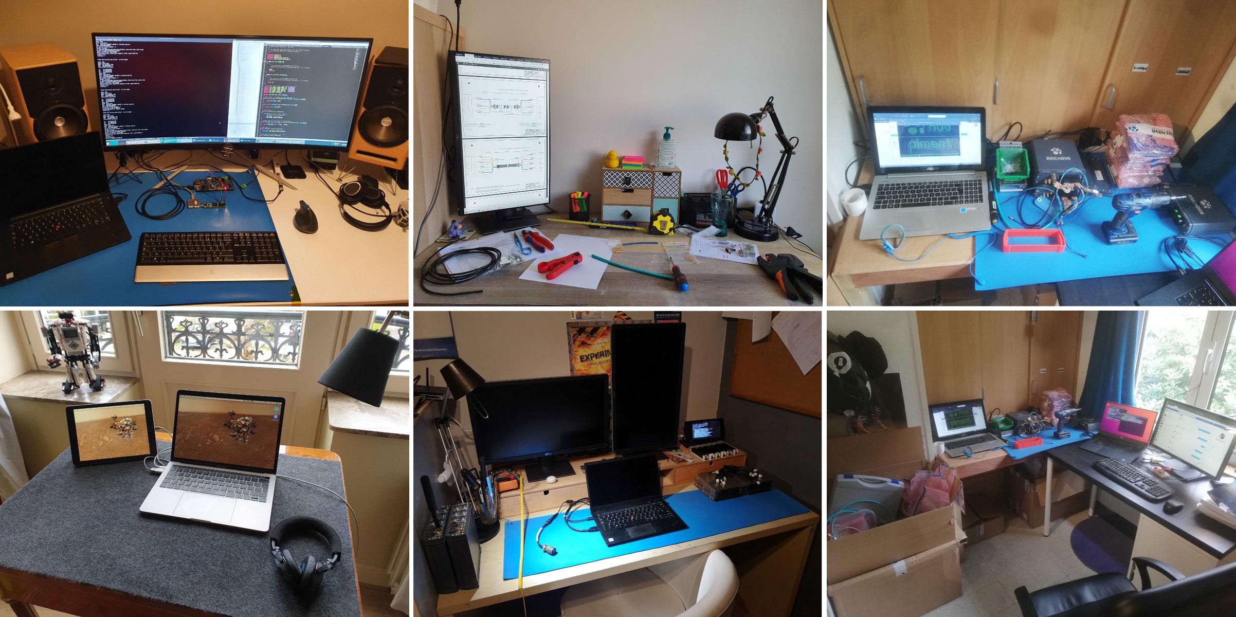 Home office setup Railnova