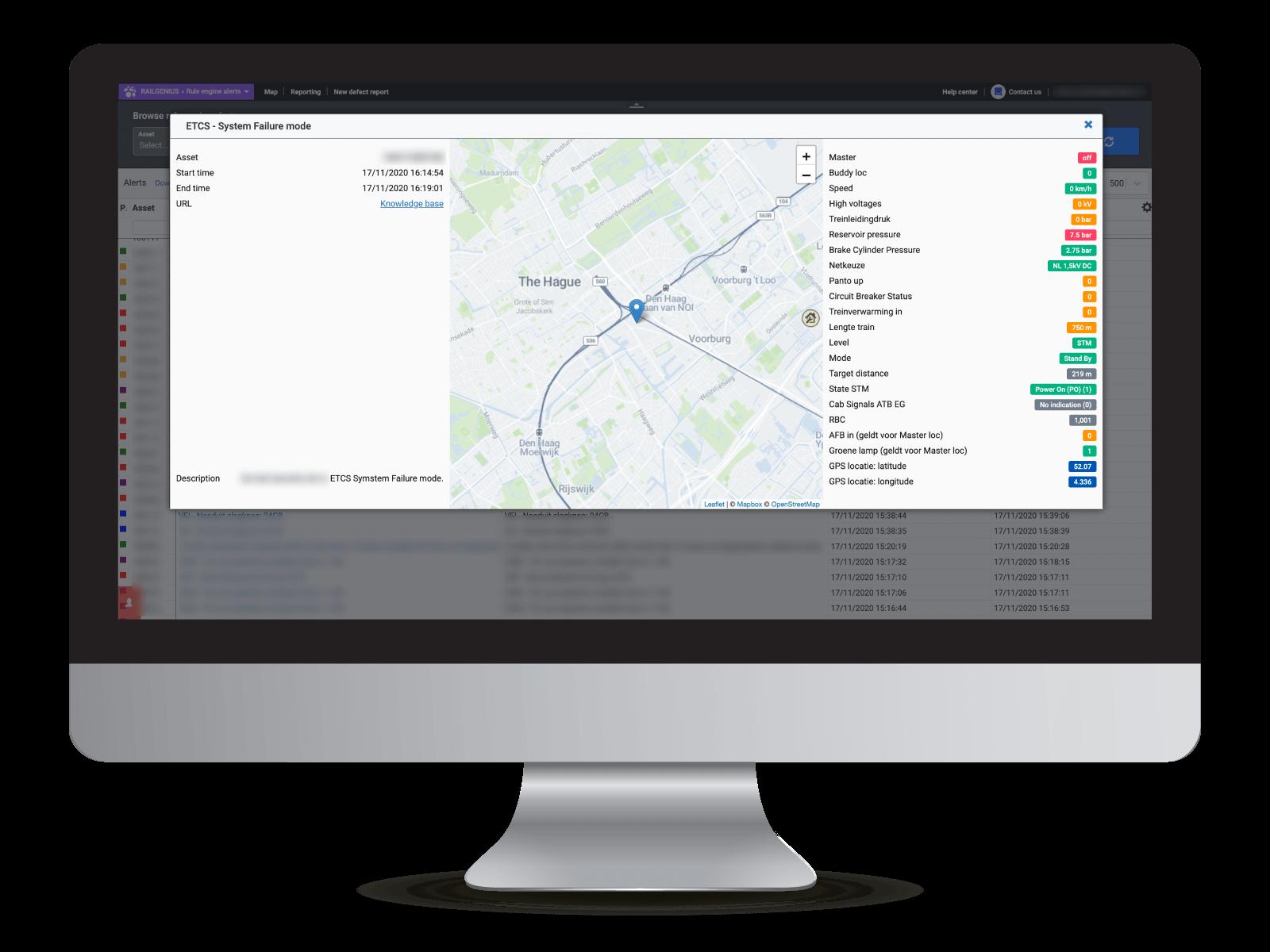 Railgenius monitoring alerts