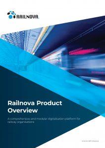 Railnova railway digitalisation products overview